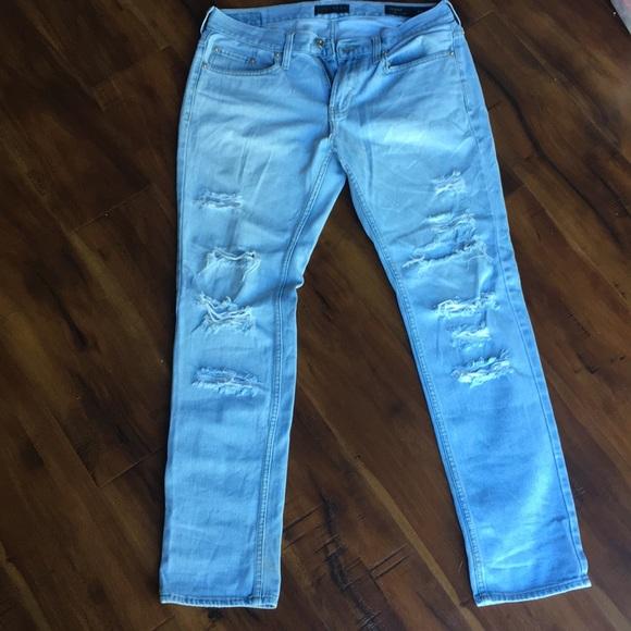 Bullhead Denim - Bullhead Skinny Distressed Denim Jeans